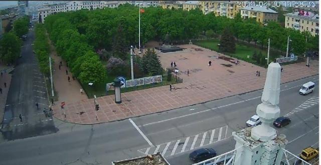 Луганские сепаратисты подняли возле Шевченко флаг СССР [Фото]