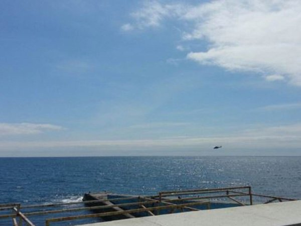 Ажиотажа на крымских курортах нет, над Алуштой вертолеты [Фото]