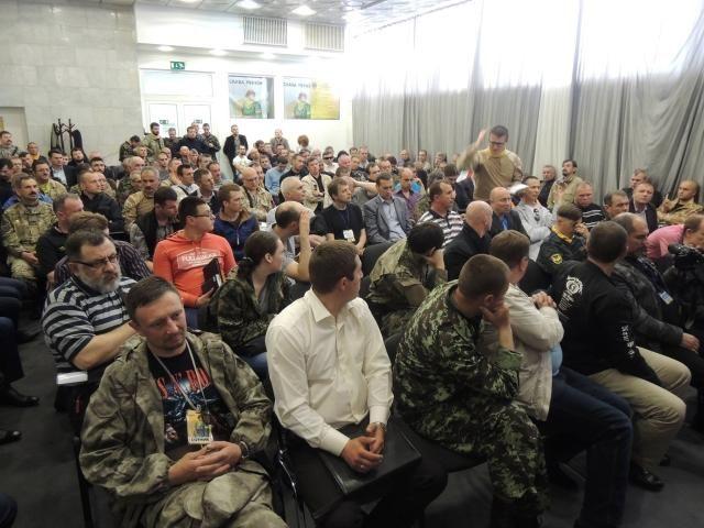 Самооборона Майдана стала всеукраинской общественной организацией [Фото]