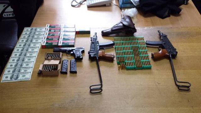 СБУ разоблачила преступников, которые поставляли оружие для срыва выборов