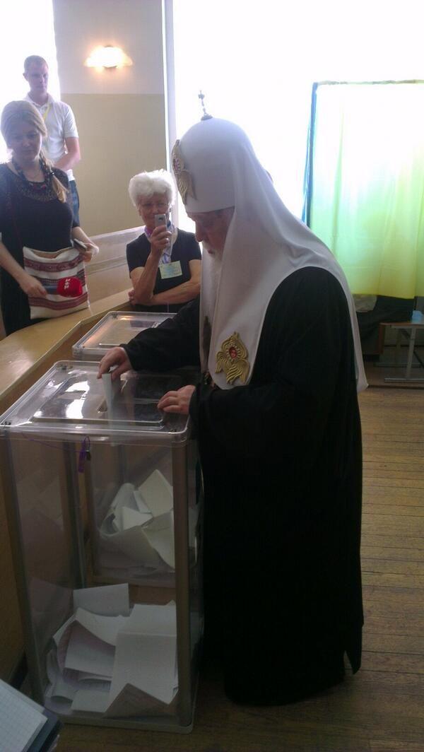 Патриарх Филарет призвал людей с востока прийти на выборы [Фото]