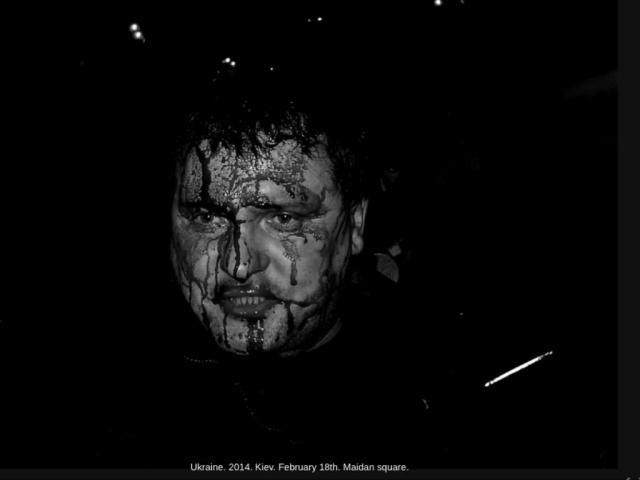 Знаковые фото итальянского журналиста, погибшего в Славянском