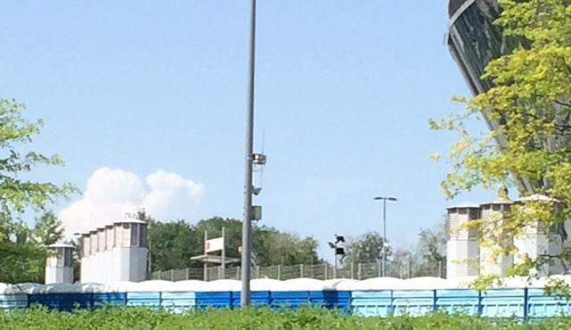 В аэропорту Донецка эвакуировали сотрудников диспетчерской вышки [Фото]