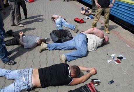 СБУ задержала одного из руководителей боевиков в Краматорске [Фото. Видео]