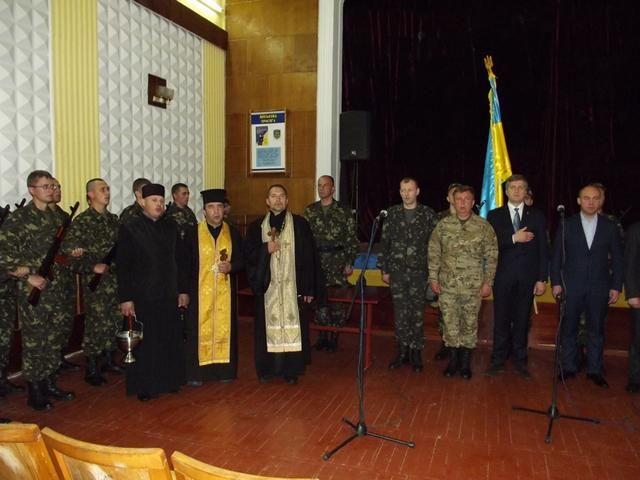 Бойцы батальона территориальной обороны приняли присягу в Тернополе [Фото]
