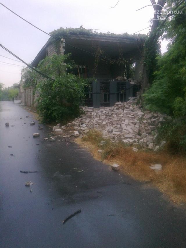 В Мариуполе взорвали трансформаторную подстанцию [Фото]