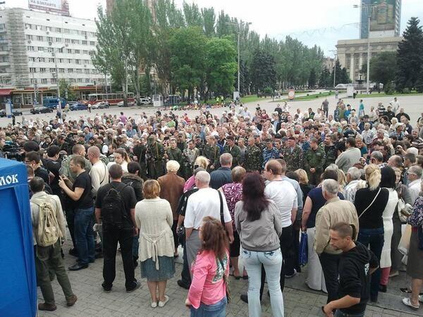 В присутствии Царева боевики приняли присягу террористической