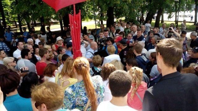 В Харькове будут митинговать майдановцы и антимайдановцы [Фото]