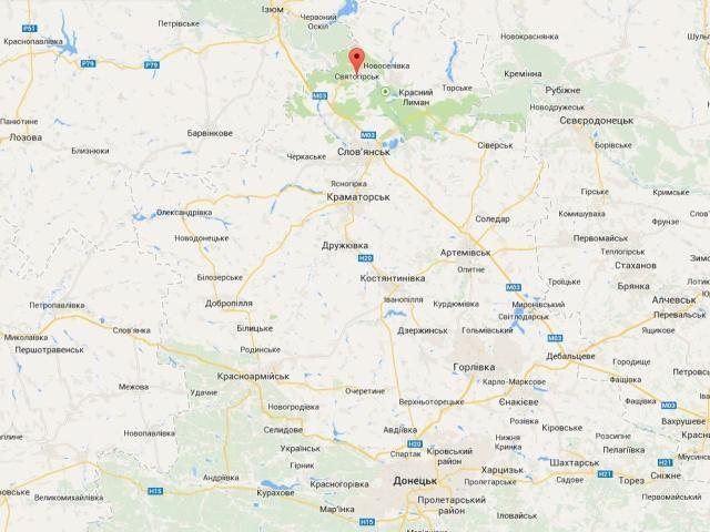 Ядро террористов перебралось из Славянска в Святогорск, - журналист