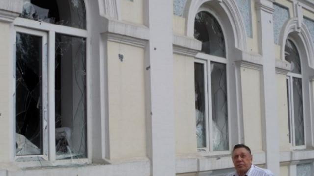В Луганске обстреляли