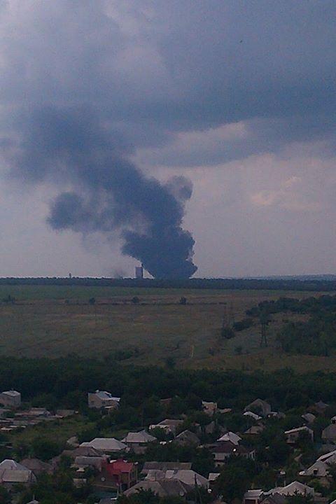 Луганск ночью обстреливали из минометов