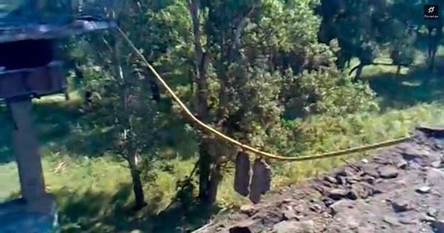 Боевики взорвали мост в Лисичанске [Фото. Видео]