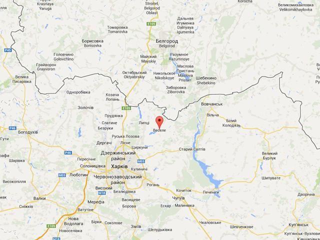 В Харьковской области вблизи границы с РФ обнаружен беспилотный летательный аппарат [Фото.Карта]
