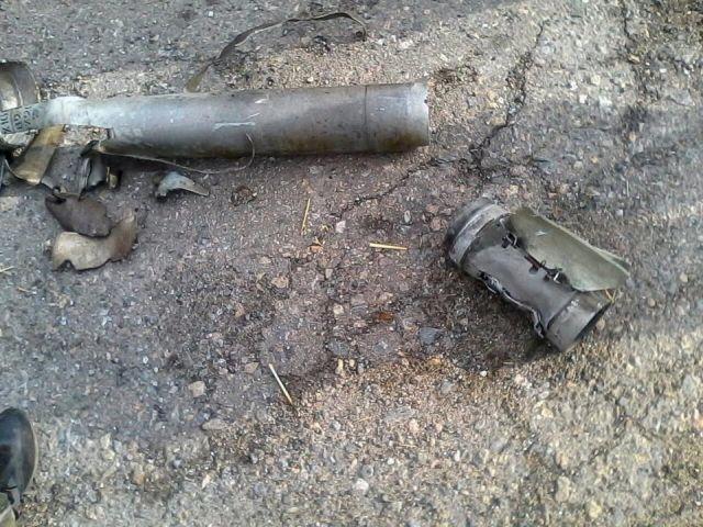 С территории РФ вновь обстреляли силы АТО с