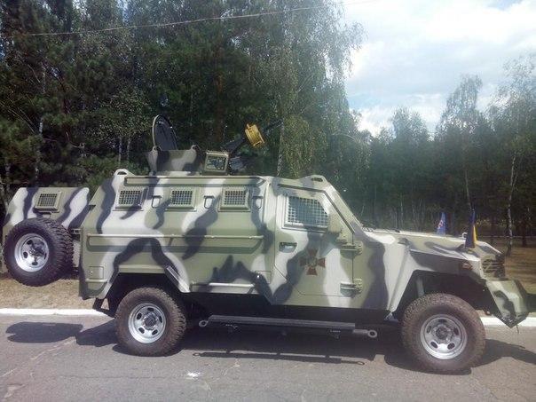 Бойцы Национальной гвардии получили современную военную технику и оружие [Фото]