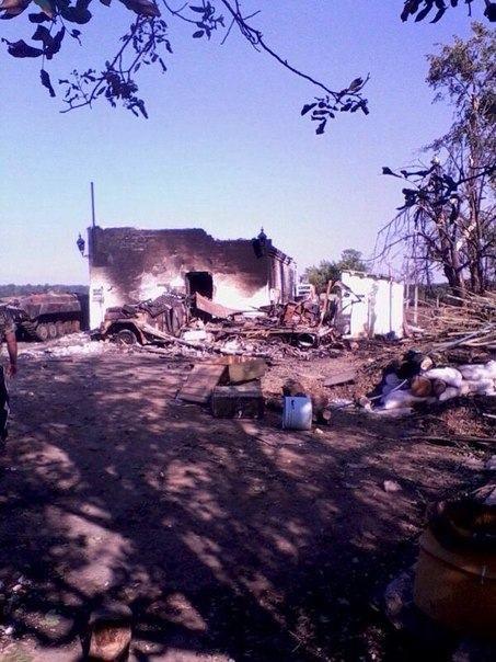 Террористы массово обстреливают украинских пограничников [Фото]