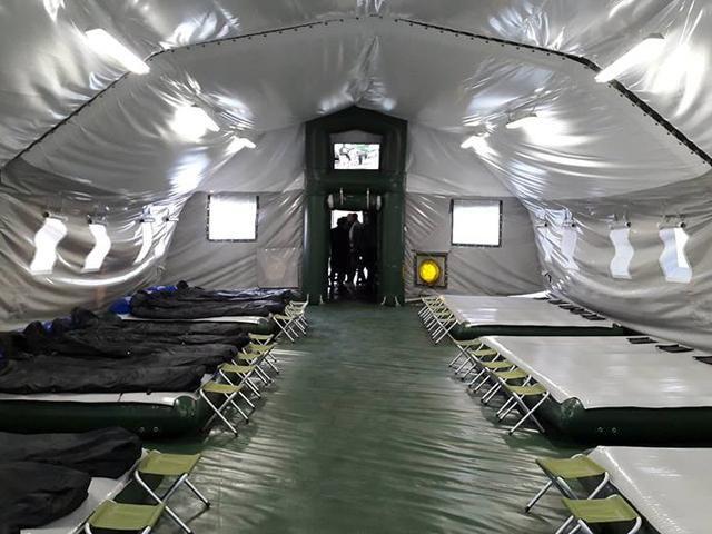 Аваков рассказал о новых палатках для украинских бойцов [Фото]