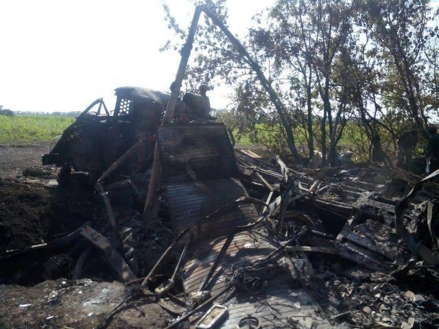 В результате обстрелов со стороны России была уничтожена техника украинских солдат [Фото]