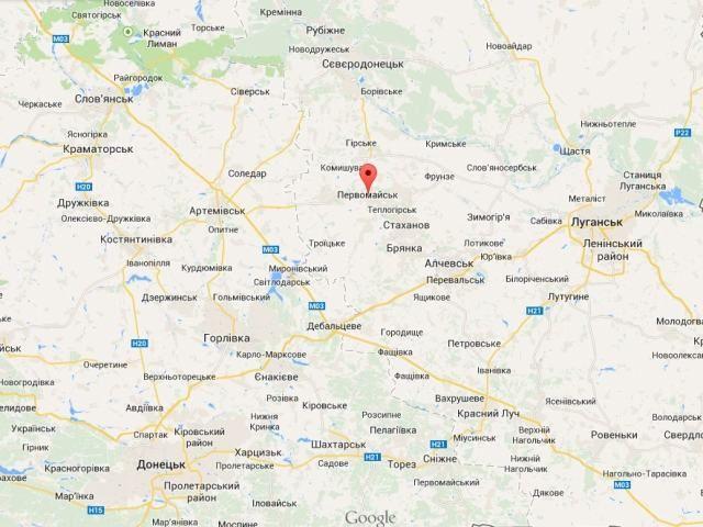 Украинские военные штурмуют Первомайск Луганской области, — батальон
