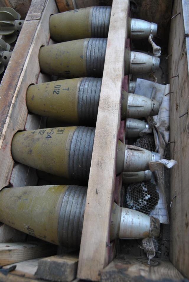 Боевики оставили в Лисичанске ракеты и множество [Фото]