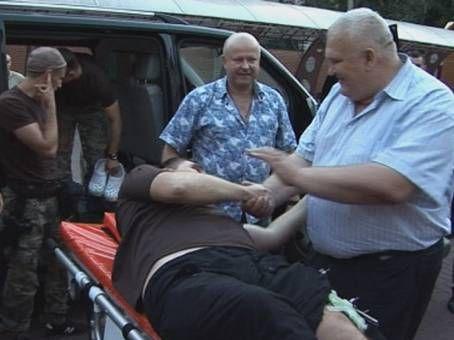 Офицера Управления госохраны освободили из плена террористов [Фото]