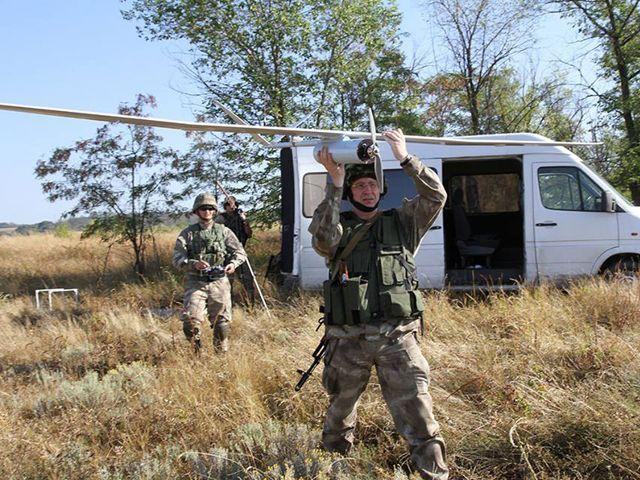 На вооружении сил АТО появились новые беспилотники [Фото]