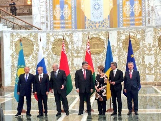 В Минске началась встреча Украина-ЕС-