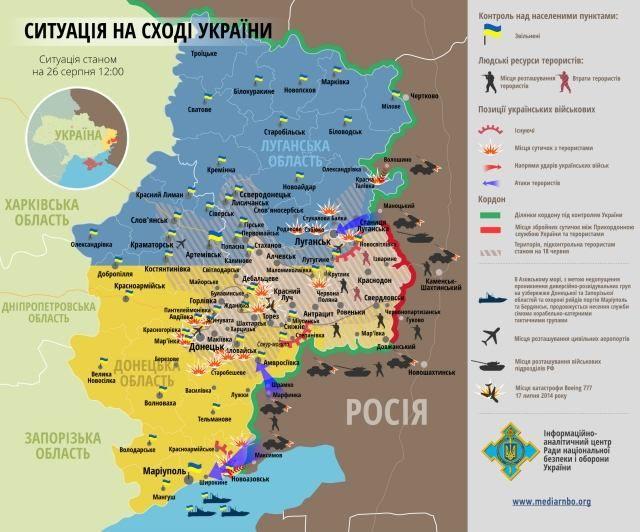 Главное за 26 августа: встреча в Минске, солдаты РФ продолжают вторжение в Украину