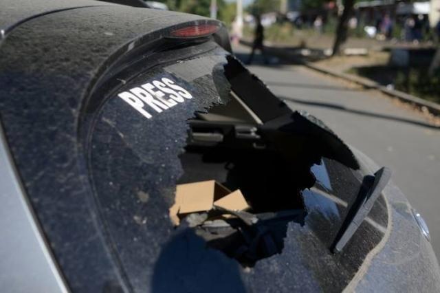 Четверо украинских журналистов вырвались из окружения под Иловайском [Фото]