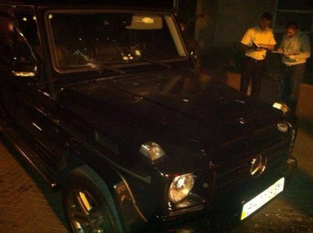 """Стрельба в Одессе: неизвестные обстреляли два """"Mercedes"""" - есть жертвы и раненые, - МВД - Цензор.НЕТ 1850"""
