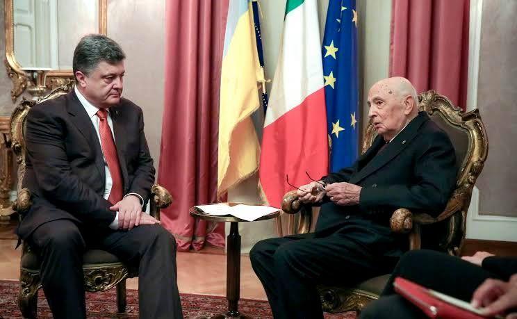 Порошенко встретился с Президентом Италии [Фото]