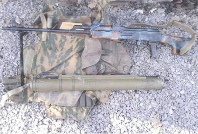 Вблизи Дебальцево СБУ задержала вооруженного боевика — гражданина РФ [Фото]