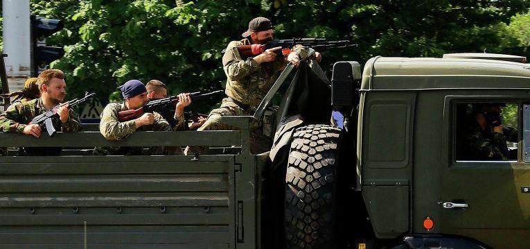 Трехсторонняя война на Донбассе