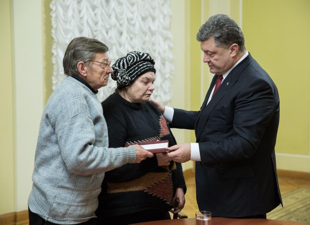 Президент наградил орденами Героев Небесной Сотни троих иностранцев [Фото]
