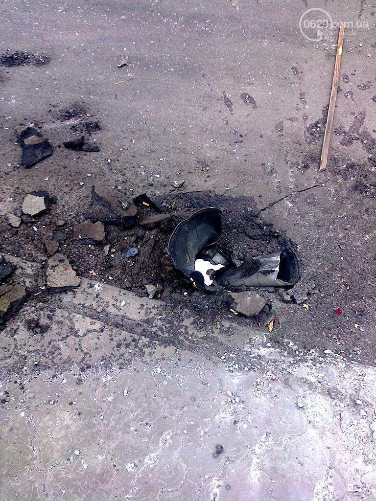 Микрорайон Восточный в Мариуполе обстреляли примерно 40 снарядами
