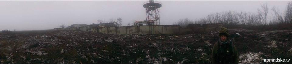 Метеостанция донецкого аэропорта превратилась в руины