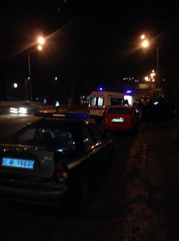 В Киеве произошла серьезная ДТП
