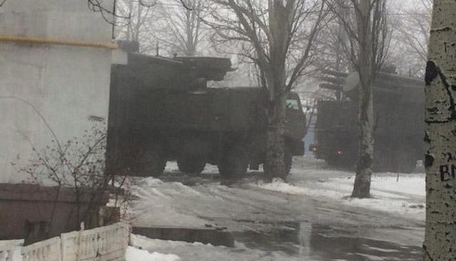 В Донецкой области появились российские зенитные ракетно-пушечные комплексы