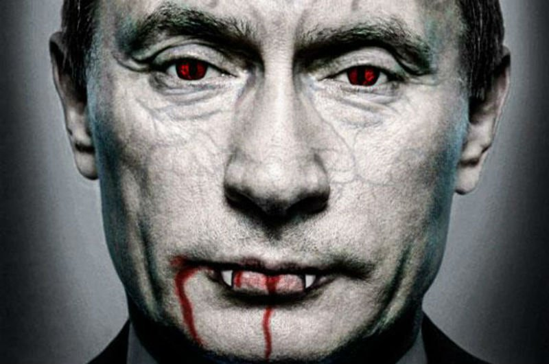 Как Путин окончательно з глузду з'їхав