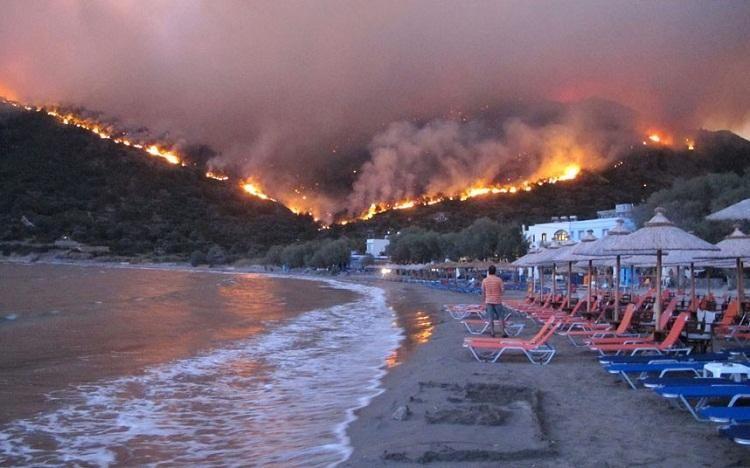 Пожежа у Греції
