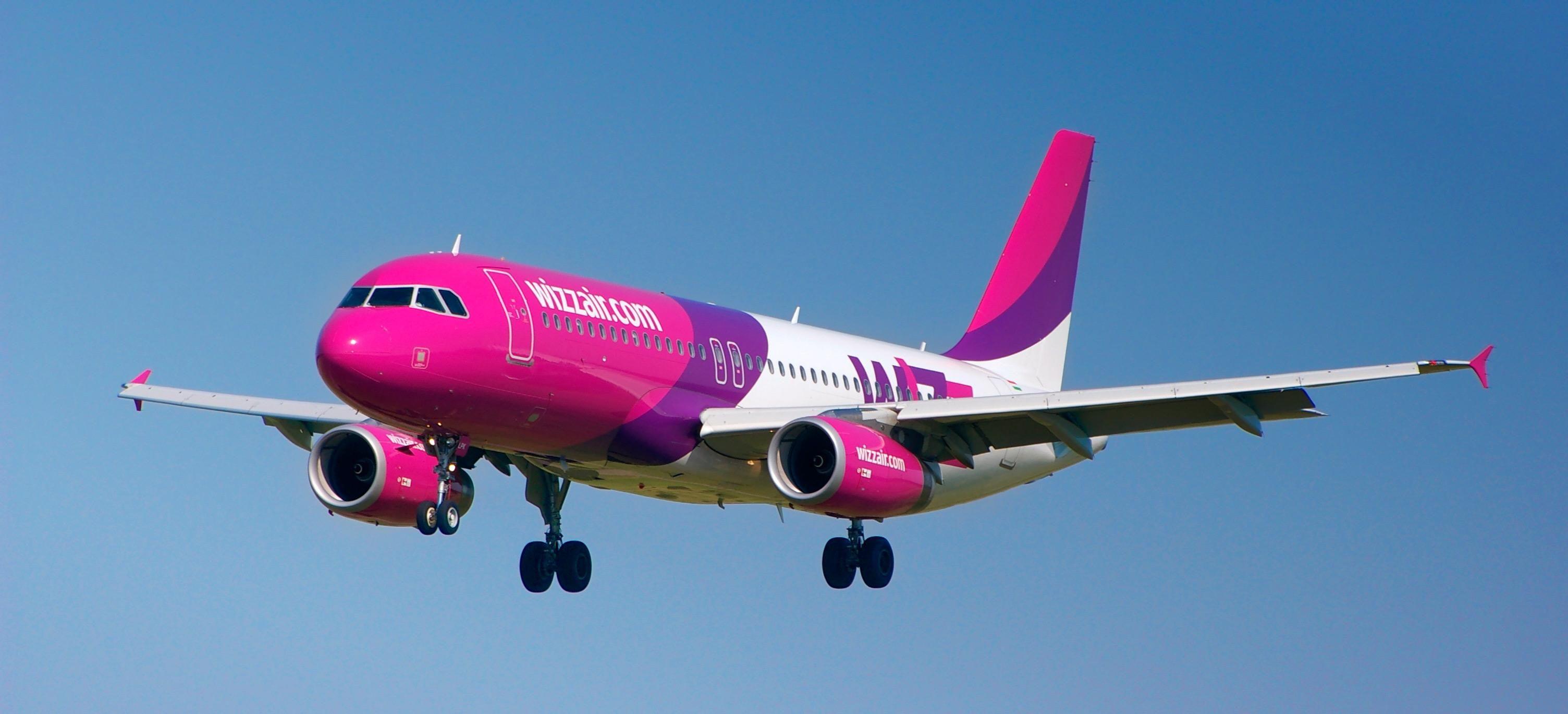 Wizz Air сокращает частоту рейсов из Киева по 17 направлениям