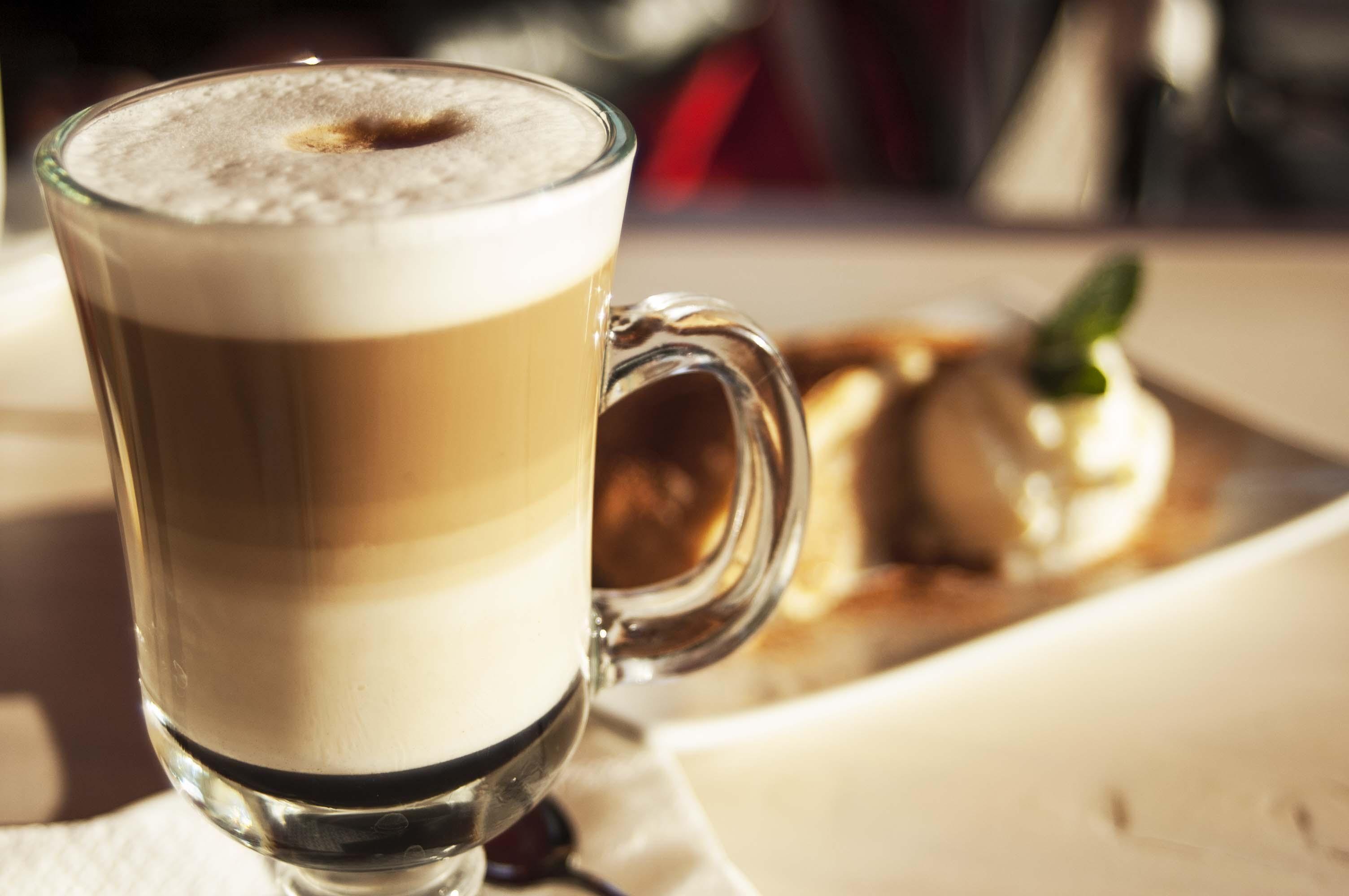 Латте дома в кофемашине, технология приготовления
