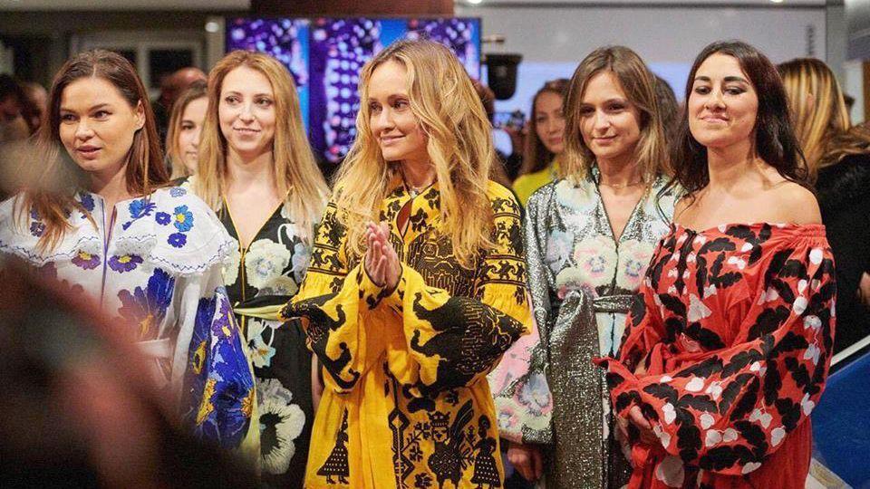 Українська дизайнерка Юлія Магдич влаштувала розкішний показ ... a4dfa5926f2d5