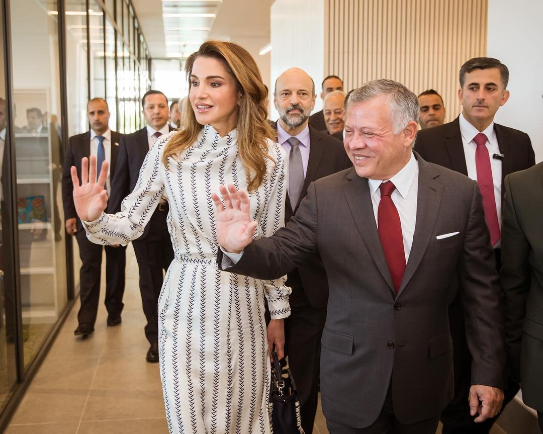 4cd4abee784 Stylish style: a new way out of the Queen of Jordan Rania – Naaju