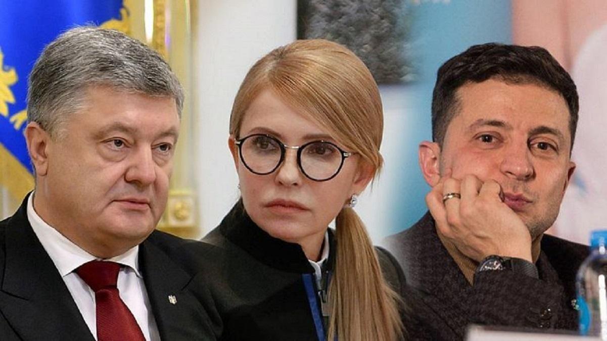 Трійка лідерів за рейтингами КМІС