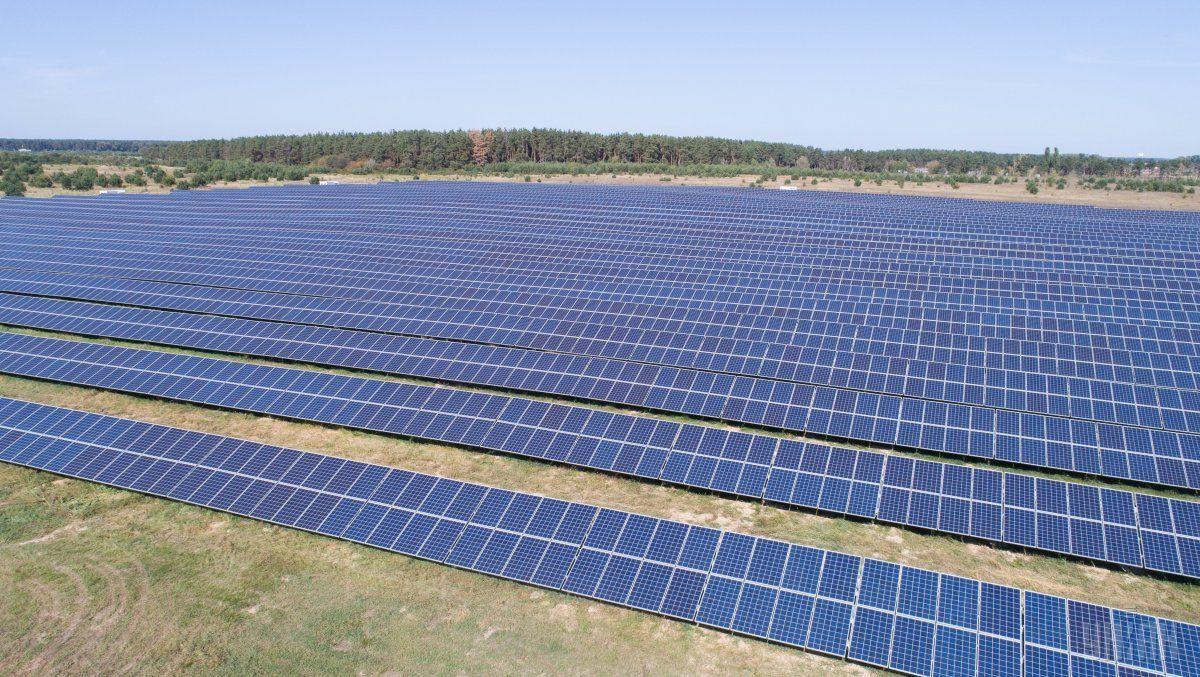 Солнечная электростанция в щелкино фото