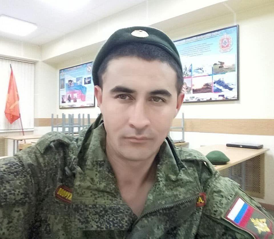 російського кадрового військового з 15-й ОМСБр Рустама Файзулліна