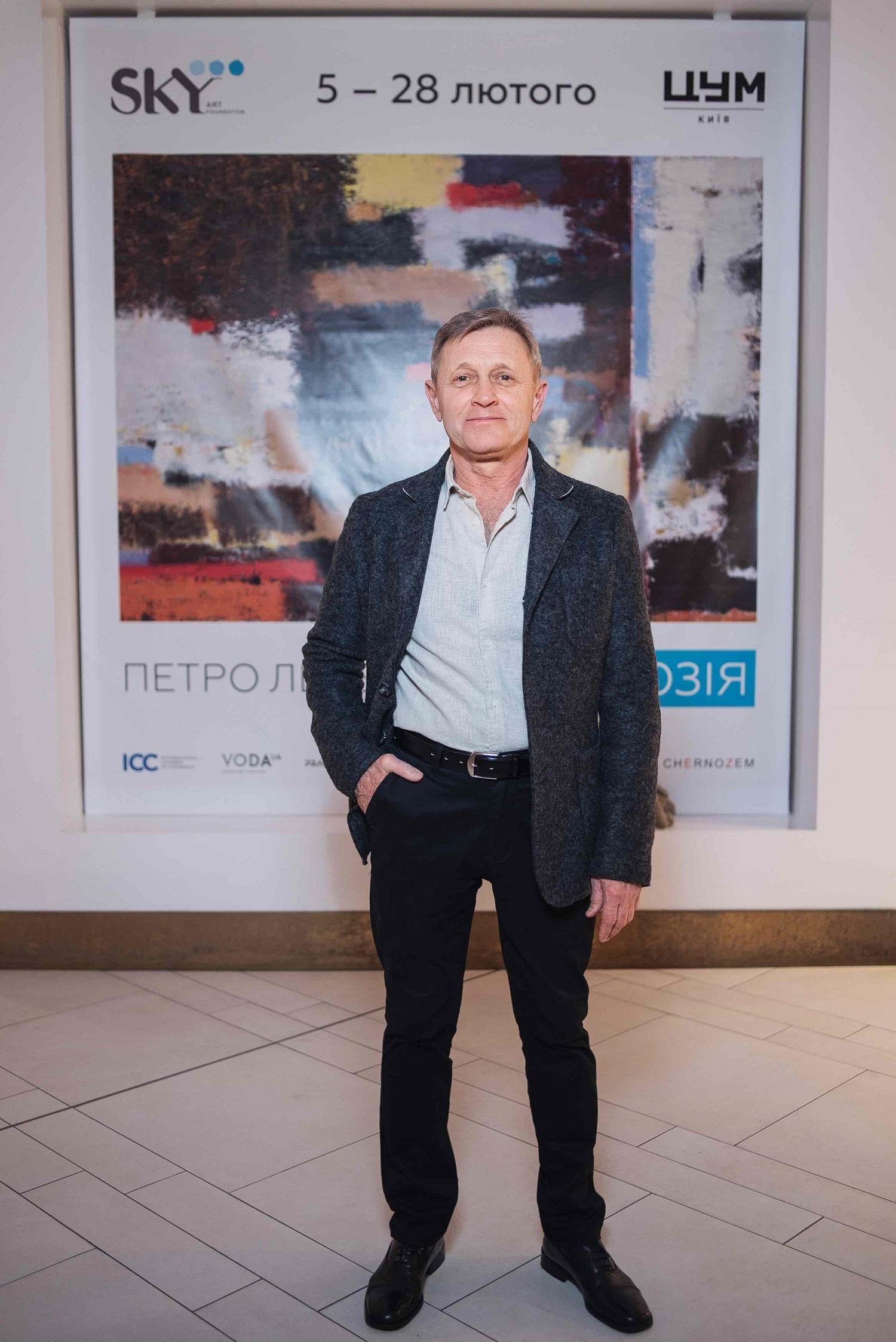 Всемирно известный абстракционист проведет открытую авторскую экскурсию в Киеве