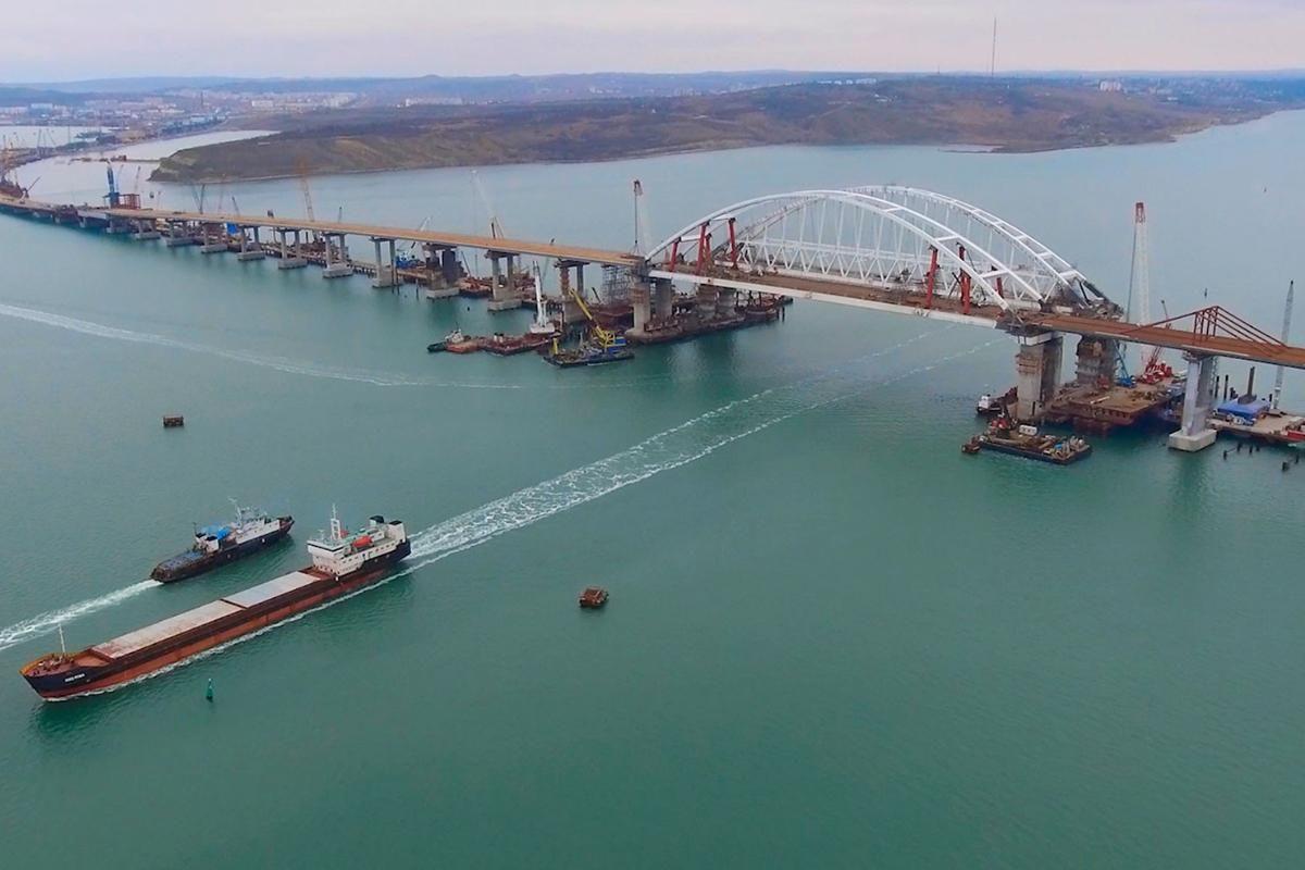 строительство моста в крым сегодня фото страна