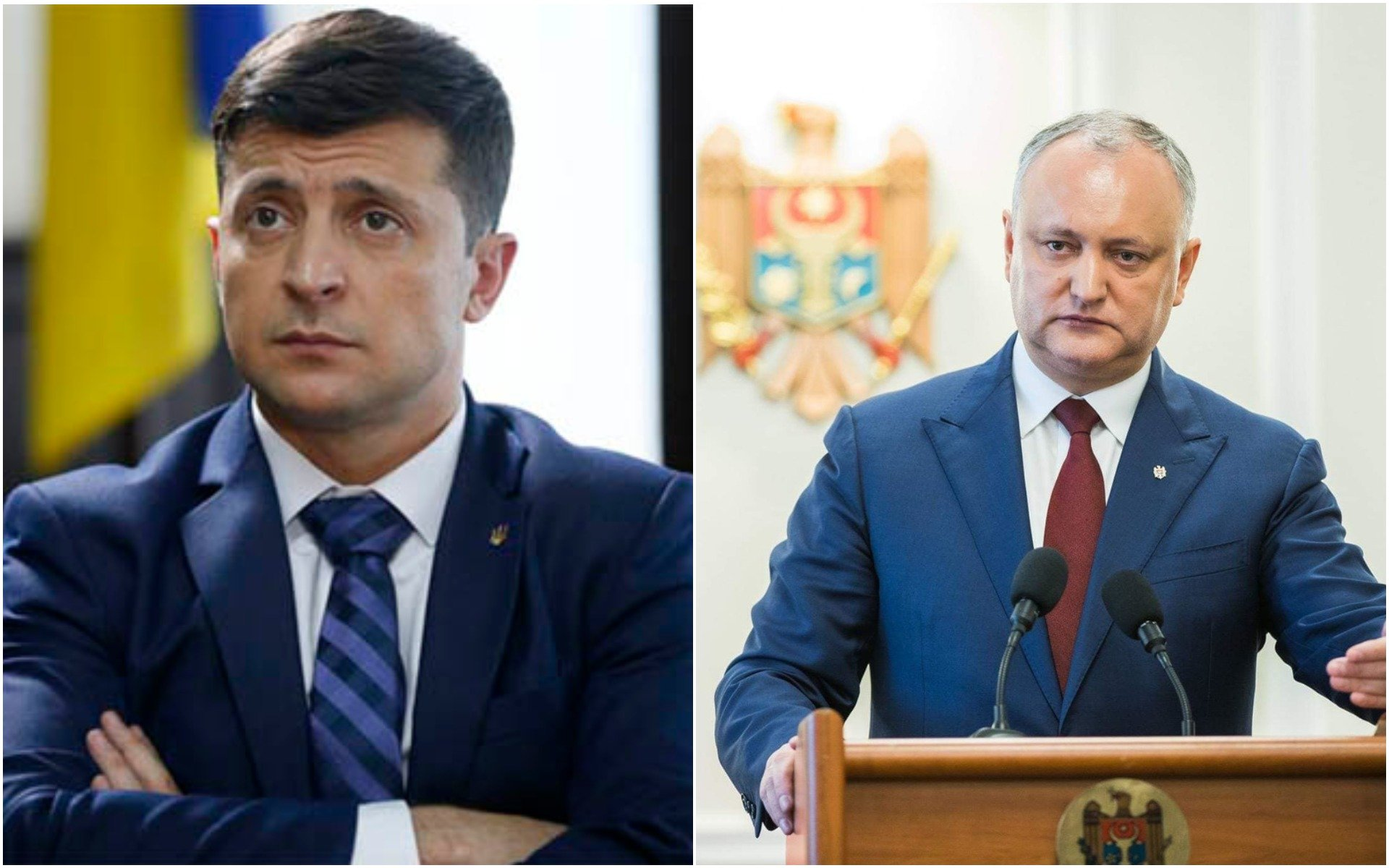 Зеленський зустрінеться з проросійським президентом Молдови Додоном